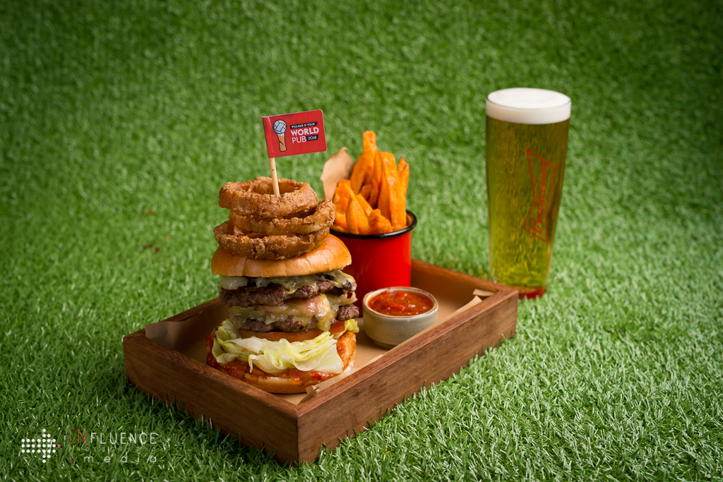 World Cup Time – What a Burger